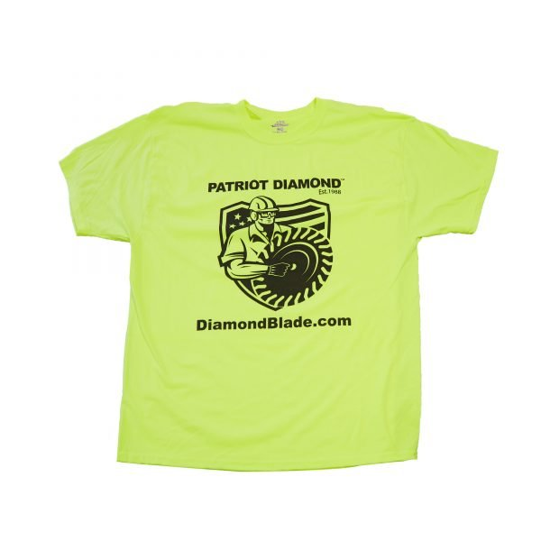 patriot diamond on the job safety shirt